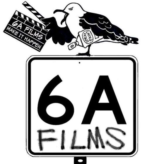 6A Logo BW