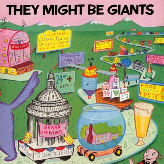 They Might Be Giants Cover